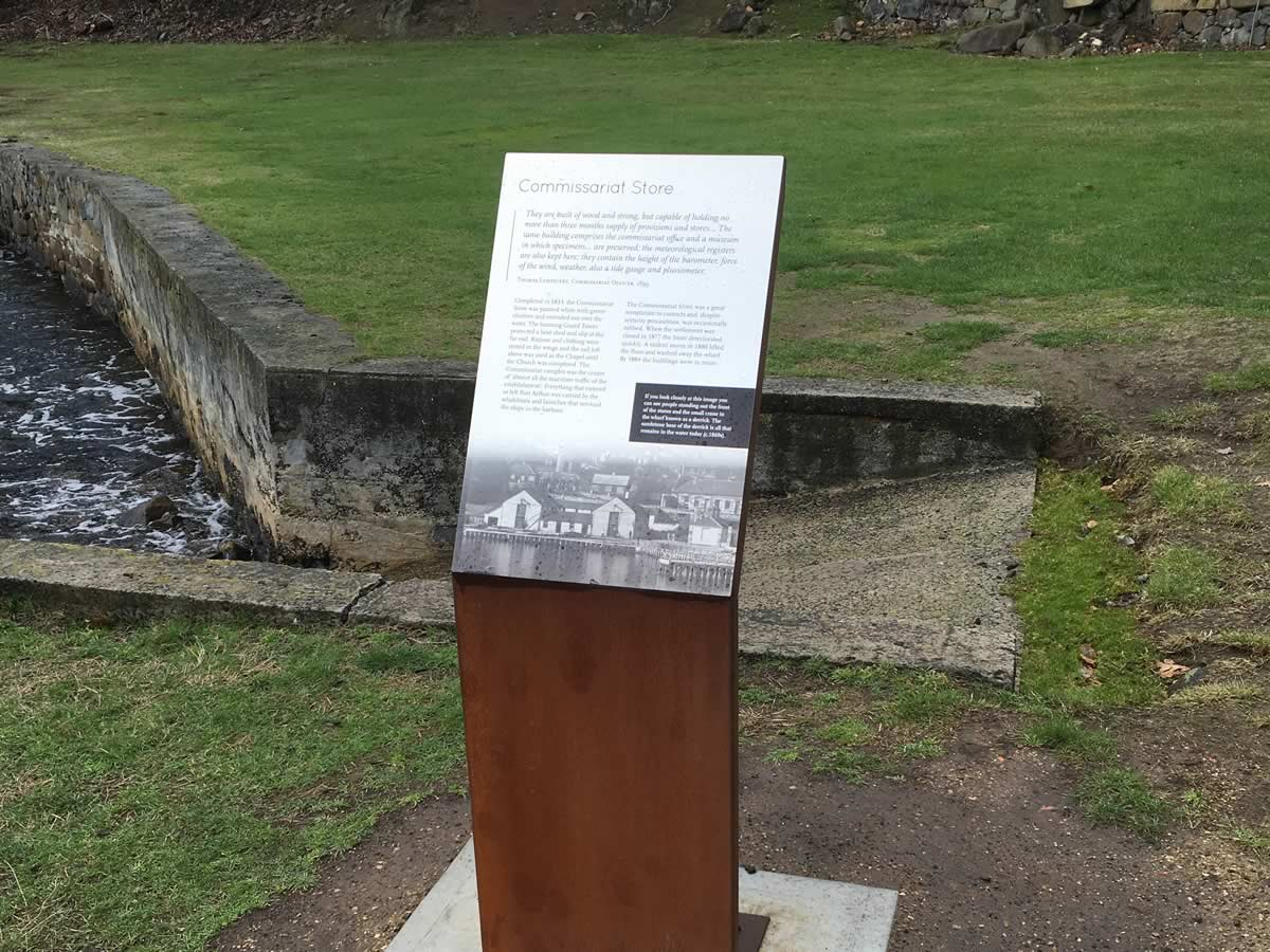 Whole of site signage, Port Arthur Historic Site